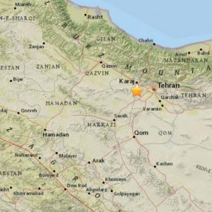 One Dead in Tehran Tremor