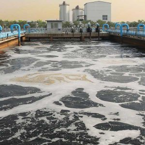 Around 47% of the country's urban population have been connected to the wastewater networks.