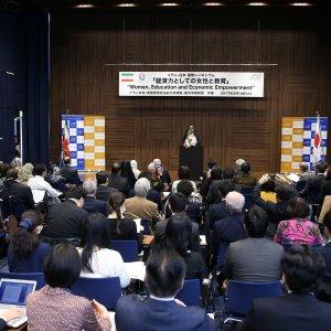 Japan, Iran Highlight Role of Women in Development
