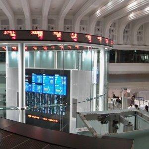 The Tokyo Stock Exchange