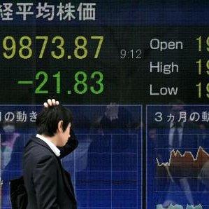 Japan's benchmark Nikkei 225 index and Kospi edged up.
