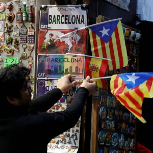 Catalan economy is already hurt by  the independence push.