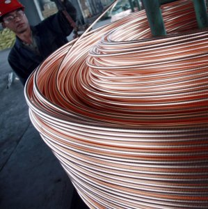China Copper Imports Up 22%