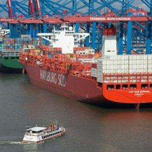 German Trade Surplus Narrows