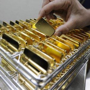 Gold at One-Week Low