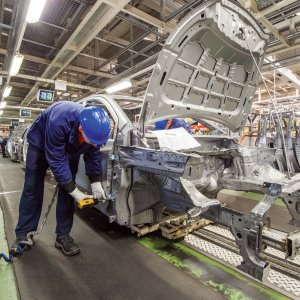Half of Hungarian and a quarter of Polish manufacturing firms now claim that a shortage of workers  is limiting production and inhibiting investment.