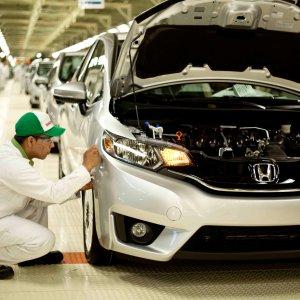 Japan's Honda factory in Celaya, Mexico.