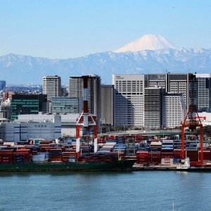 Better export performance was reflective of the recent depreciation of the yen.