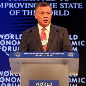 Jordan King Inaugurates WEF