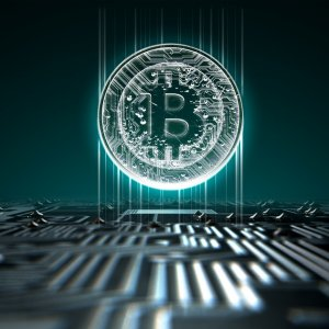 Bitcoin's price surged by more than $1,000 in less than an hour.