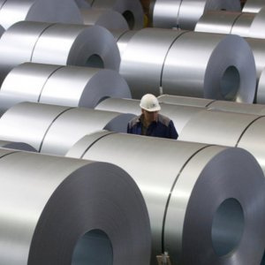 Steel consumption rose modestly by 4%.