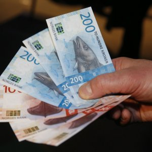 The fund warned that a NKr crash could wipe away more than 40% of its value.