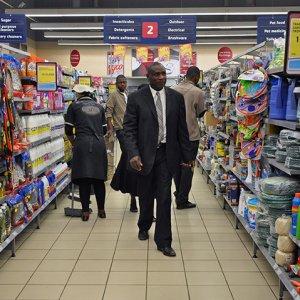 South Africa GDP Shrinks