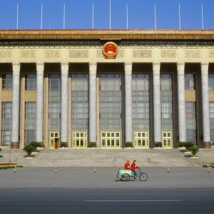 The Chinese government has predicted that this year's growth target of around 6.5% can be achieved. For the Xi regime, achieving this year's goal is critically important. The picture shows the National People's Congress.