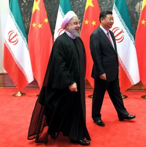 Iran, China Sign 4 Agreements During Rouhani's Visit