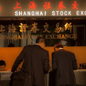Shanghai reversed early losses  to end up 0.1%.