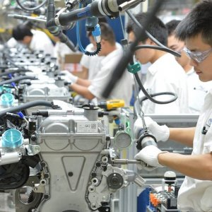 Asian Factories End Strong 2017 on Mixed Note