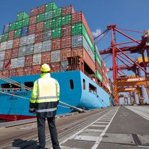 A trade surplus of A$3.57 billion in February was far above forecasts of A$1.8 billion.