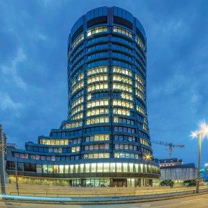 The Basel-based Bank for International Settlements