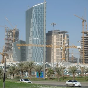 Growth in Saudi Arabia's non-oil economy has almost ground to a halt, increasing pressure on the government  to stimulate activity and rein in unpopular austerity policies.