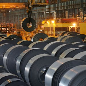 China's giant steel sector churned out 72.7m tons of the stuff in June.