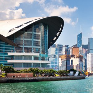 Hong Kong's financial services industry accounts for 18% of the territory's economy.