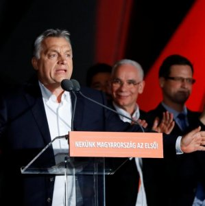 Prime Minister Viktor Orban won a third successive  term last month.