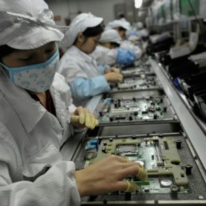 iPhone Parts Demand Spurs Taiwan Growth