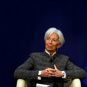 Christine Lagarde says the IMF is worried the Trump tax cuts will strengthen the hand of the global capitalist class and condemn the workers of the world.