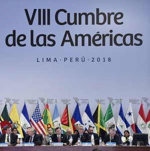 The Summit of the Americas was held in Lima April 13-14.