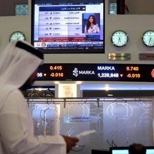 Dubai share index fell 4.6% while Qatar fell 18.3%.