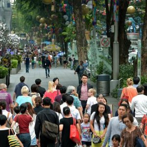 Consumer confidence in Singapore has picked up.