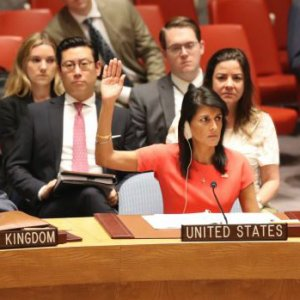 The UNSC votes to impose new sanctions on N. Korea on Saturday.