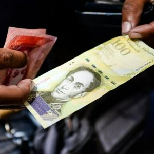 Over the past year, the Venezuelan bolivar has plummeted 95.5% against the dollar on the black market.