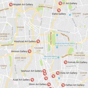 10 New Galleries in Tehran