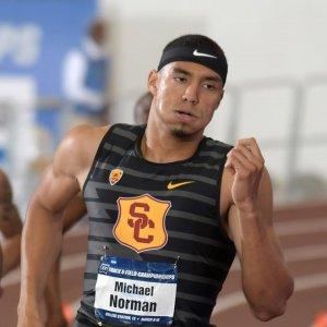 Norman Sets 400m Record