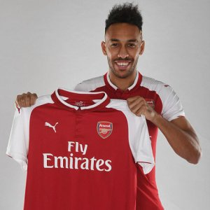 Arsenal Completes $80 Million  Aubameyang Signing in Club Record Deal