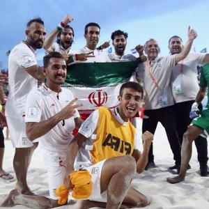 Iran to Face Paraguay in Beach Soccer