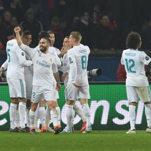 Real Hammers PSG in Paris, Liverpool Enjoys Aggregate Win
