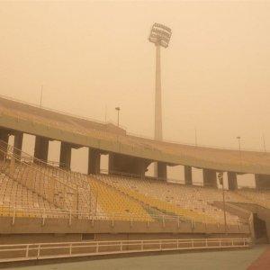 Bad weather conditions at Qadir Stadium