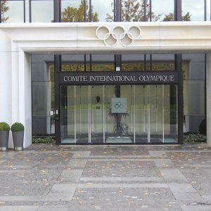 International Olympic Committee's HQ in Lausanne, Switzerland