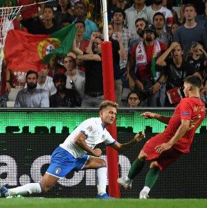 Andre Silva scored the winning goal for Portugal.
