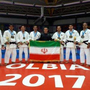 Iran Judo Kata Team 3rd in World Contest