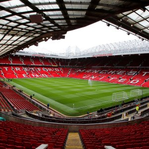 Old Trafford Stadium, home to Manchester United