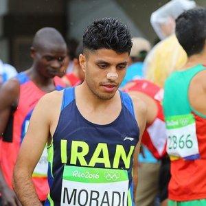 Moradi Wins Gold in Beirut Half Marathon