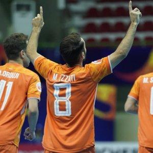 Morteza Ezzati scored the first goal for Mes Sungun.