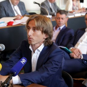Croatia and Real Madrid midfielder Luka Modric appeared in court to testify in the corruption trial of Zdravko Mamic earlier this month.