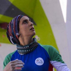 Elnaz Rekabi has gradually risen  to international fame.