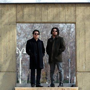 Homayoun Shajarian (L) and Sohrab Pournazeri
