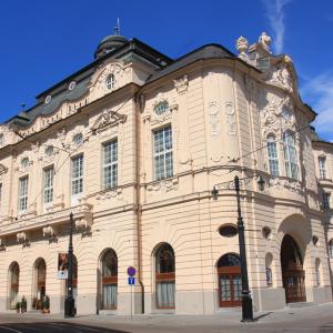 Reduta in Bratislava is seat of Slovak Philharmonic Orchestra.